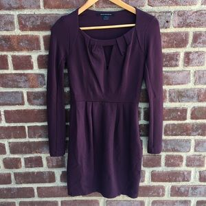💜French Connection plum dress size 6💜